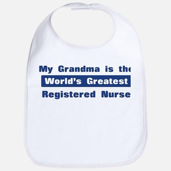 Grandma is Greatest Registere Bib
