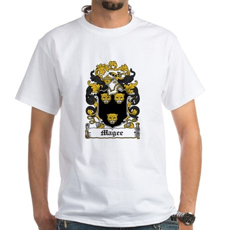 Magee Coat of Arms White T-Shirt
