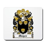 Magee Coat of Arms Mousepad