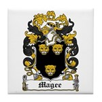 Magee Coat of Arms Tile Coaster