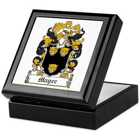 Magee Coat of Arms Keepsake Box
