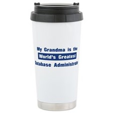 Grandma is Greatest Database Travel Mug