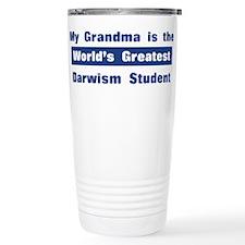 Grandma is Greatest Darwism S Travel Mug