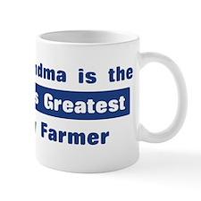 Grandma is Greatest Dairy Far Mug