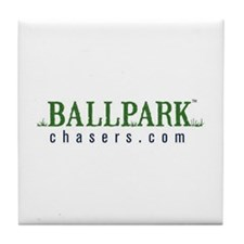 Ballpark Chasers Tile Coaster