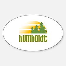 Humboldt Oval Decal