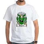 Maguire Coat of Arms White T-Shirt