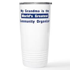 Grandma is Greatest Community Travel Mug