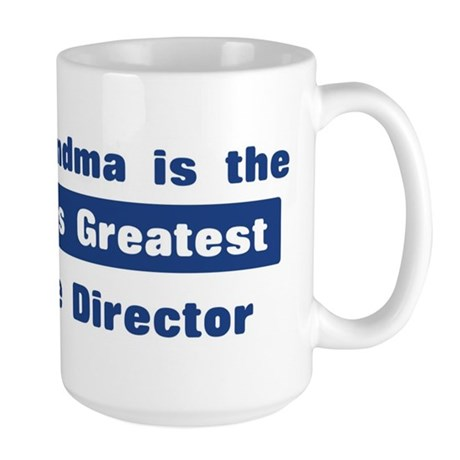 Grandma is Greatest Cruise Di Large Mug