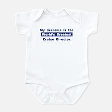 Grandma is Greatest Cruise Di Infant Bodysuit