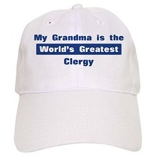 Grandma is Greatest Clergy Baseball Cap