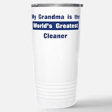 Grandma is Greatest Cleaner Stainless Steel Travel