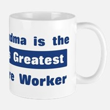 Grandma is Greatest Childcare Mug