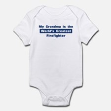 Grandma is Greatest Firefight Infant Bodysuit