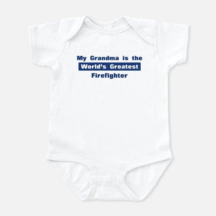 Grandma is Greatest Firefight Infant Bodysuit
