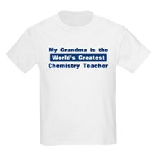 Grandma is Greatest Chemistry T-Shirt