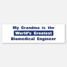 Grandma is Greatest Biomedica Bumper Bumper Bumper Sticker