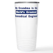 Grandma is Greatest Biomedica Travel Mug