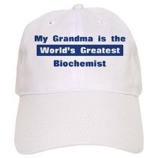 Grandma is Greatest Biochemis Baseball Cap