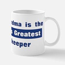 Grandma is Greatest Beekeeper Mug