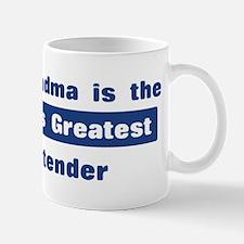 Grandma is Greatest Bartender Mug