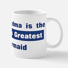 Grandma is Greatest Barmaid Mug