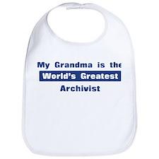 Grandma is Greatest Archivist Bib