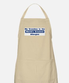 Grandma is Greatest Allergist BBQ Apron
