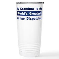Grandma is Greatest Airline D Travel Mug