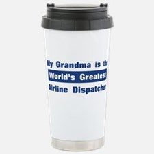 Grandma is Greatest Airline D Travel Mug