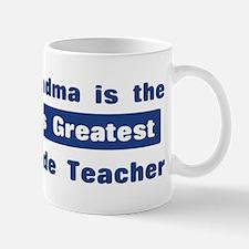 Grandma is Greatest 5th Grade Mug