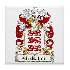 McMahon Coat of Arms Tile Coaster