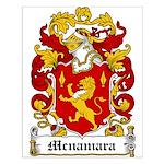 Mcnamara Coat of Arms Small Poster