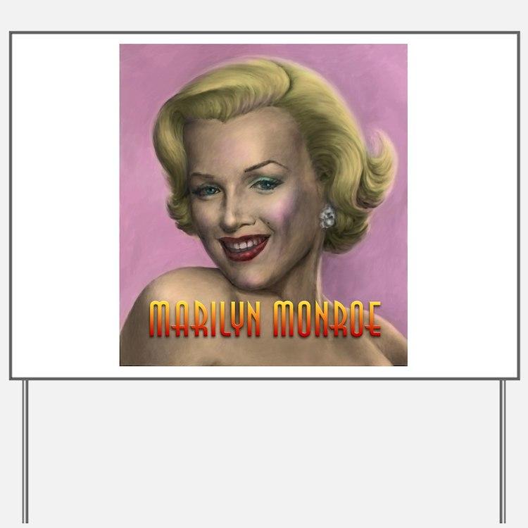 Marilyn shop 001 Yard Sign