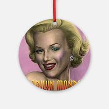 Marilyn shop 001 Ornament (Round)