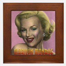 Marilyn shop 001 Framed Tile