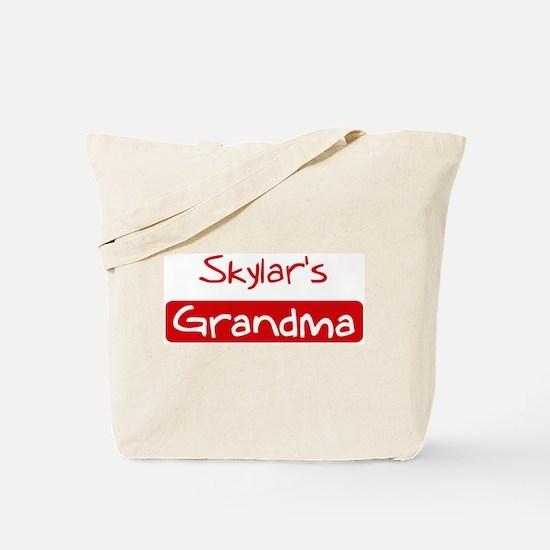 Skylars Grandma Tote Bag