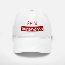 Phils Grandma Baseball Baseball Cap