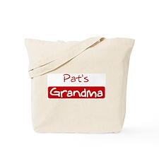 Pats Grandma Tote Bag