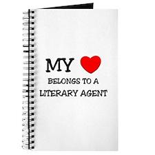 My Heart Belongs To A LITERARY AGENT Journal