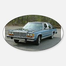 1987 LTD Sedan Oval Decal