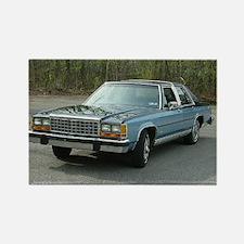 1987 LTD Sedan Rectangle Magnet