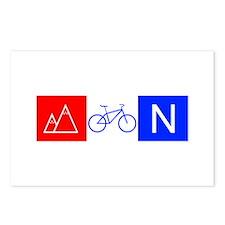 RWB Mountain Biking Postcards (Package of 8)
