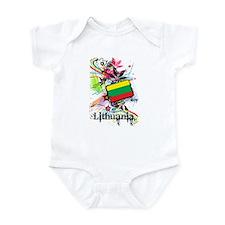 Lithuania Infant Bodysuit