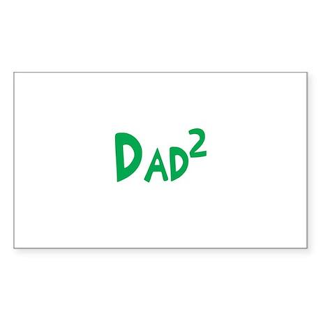 Dad2 Rectangle Sticker