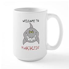 Welcome to Kwajalein (Large Mug)