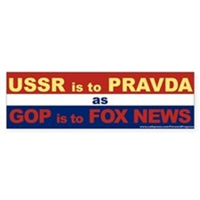 USSR Is To Pravda As GOP Is To Fox News