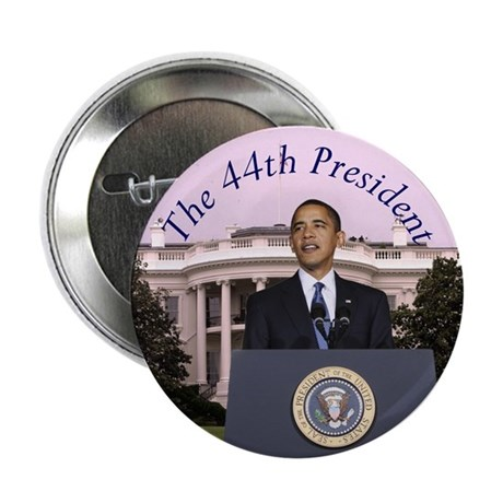 "Obama: The 44th President 2.25"" Button (10 pack)"