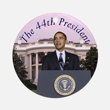 Obama: The 44th President Ornament (Round)