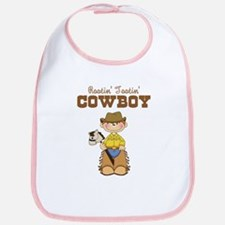 Rootin' Tootin' Red Head Cowb Bib